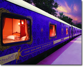 Golden Chariot Luxury Train Concept Voyages