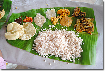 Kerala Thali Meal Concept Voyages