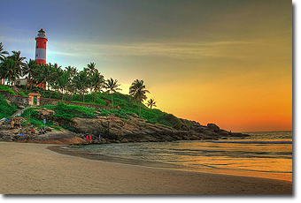 Kerala Kovalam Beach Concept Voyages